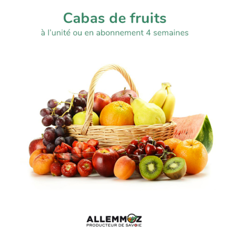 Cabas de fruits